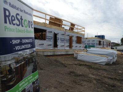 Major Habitat home build in Quinte West